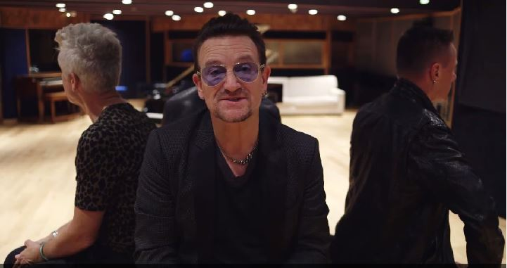 """Watch U2′s """"The Miracle (Of Joey Ramone)"""" Crappy Video, And their Apology For iTunes Stunt"""
