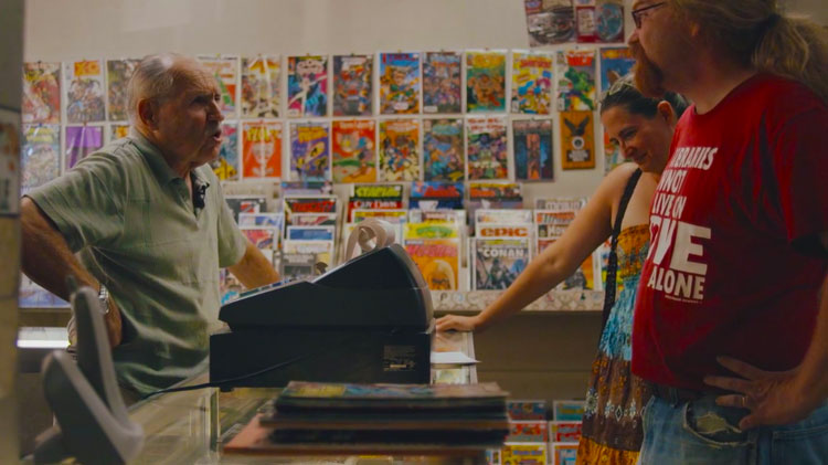 "Check out the wonderful short documentary ""Comic Book Heaven"""