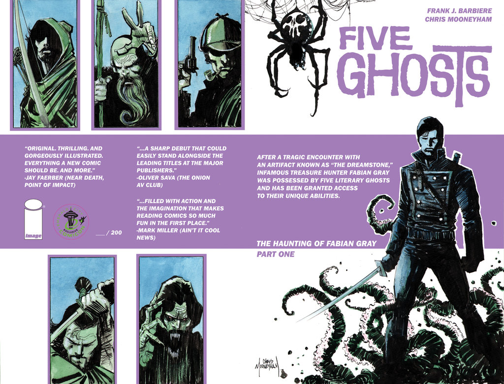 Five Ghosts is coming to Syfy