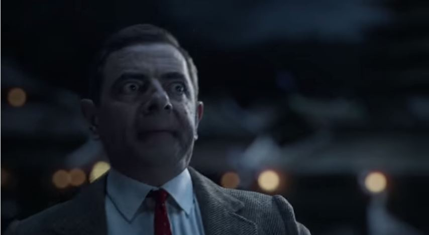 Have you seen the new Mr. Bean-Ninja Advert Yet?