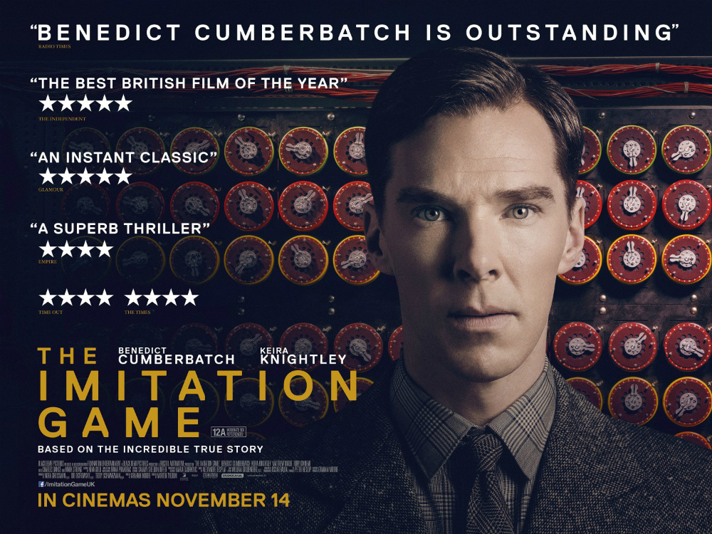 Watch the new Trailer of THE IMITATION GAME with Benedict Cumberbatch