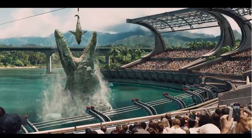 Jurassic World - Official Trailer has arrived