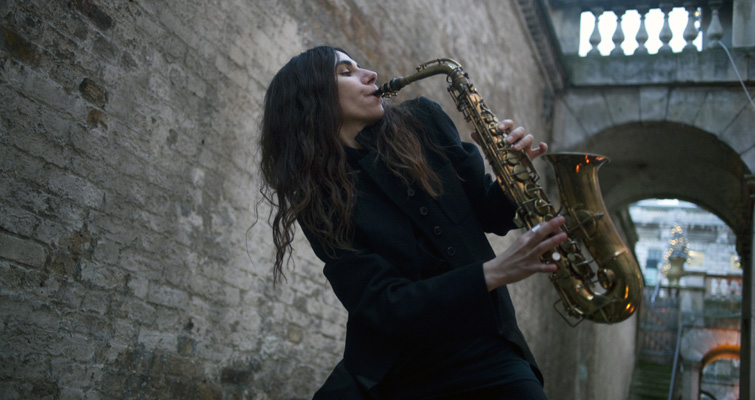 PJ Harvey Is Recording Her New Album in Public, and You Can Watch