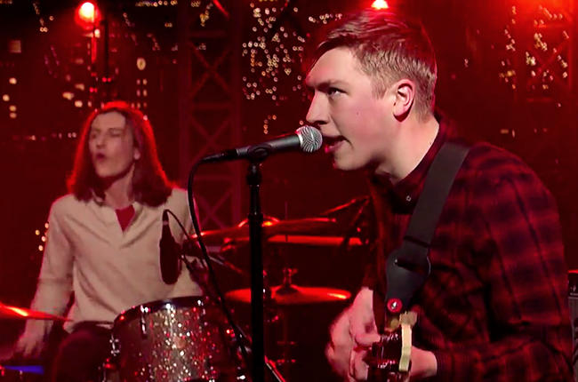 """Check out: Drenge """"We Can Do What We Want"""" on David Letterman"""