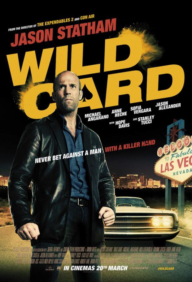 Jason Statham in yet another Action Thriller 'Wild Card' (Trailer)