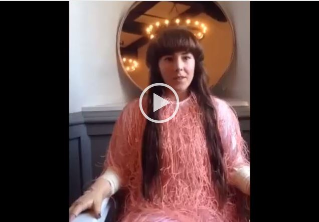 Watch Megan From Purity Ring, Sing her Chorus Backwards!