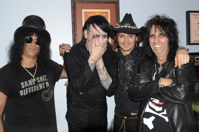 Johnny Depp, Alice Cooper, and Joe Perry in new supergroup