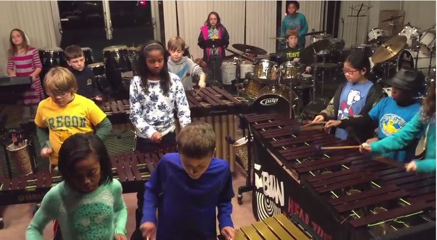KIDS COVER LED ZEPPELIN SONGS ON XYLOPHONES