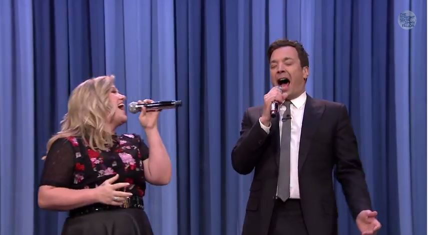 Watch: History of Duets with Kelly Clarkson on Jimmy Fallon
