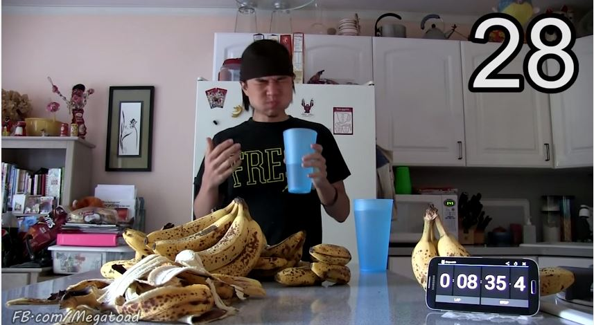 Could You Eat 50 Bananas? Well This Guy Can