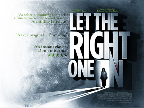 """Another Movie To TV Series Adaptation """"Let the right one in"""""""