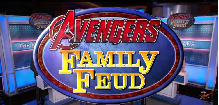 Marvel's 'Avengers' Films Play 'Family Feud' on 'Jimmy Kimmel Live'