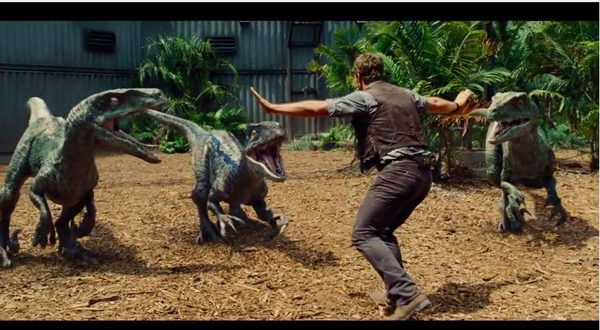 Watch The New Trailer for Jurassic World !!