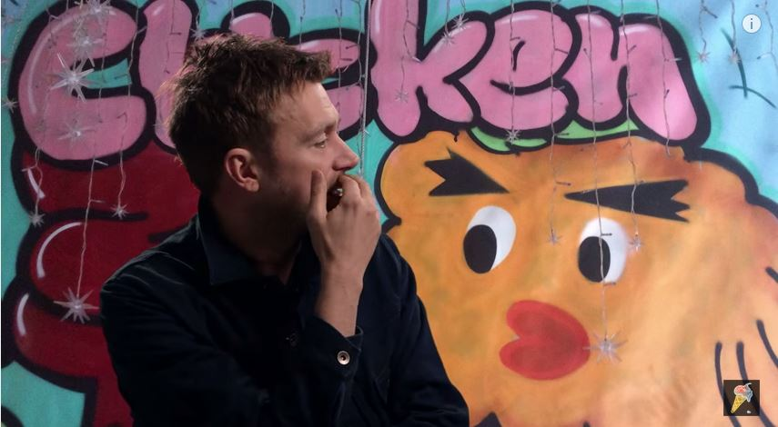 Check out Blur´s The Magic Whip Making-Of Documentary