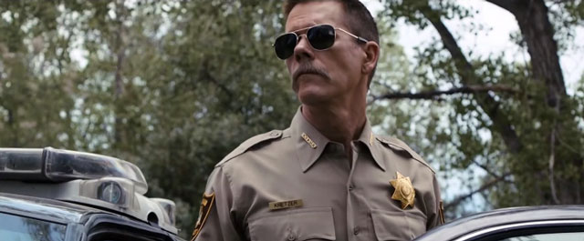 Have a look at Kevin Bacon´s new COP CAR Trailer
