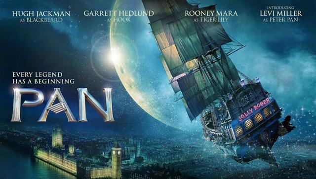 Watch The New Pan Trailer with Hugh Jackman as Blackbeard