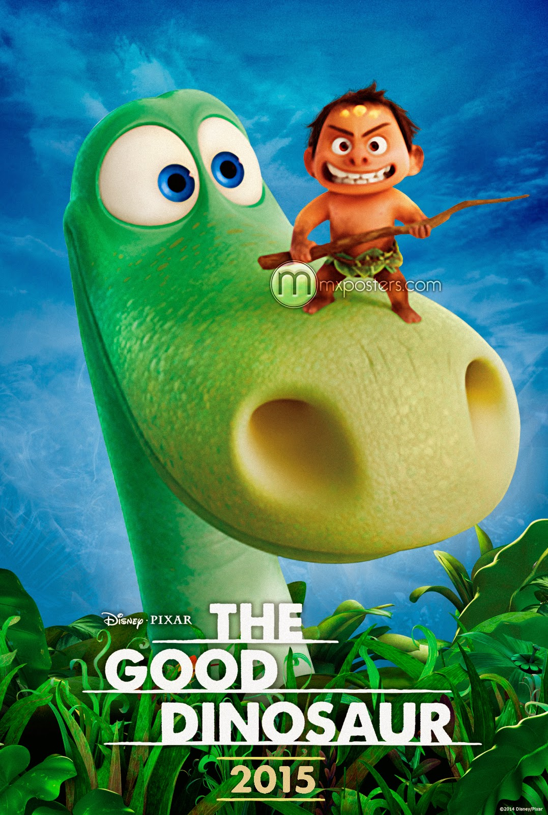 Here´s The First trailer for Pixar's The Good Dinosaur