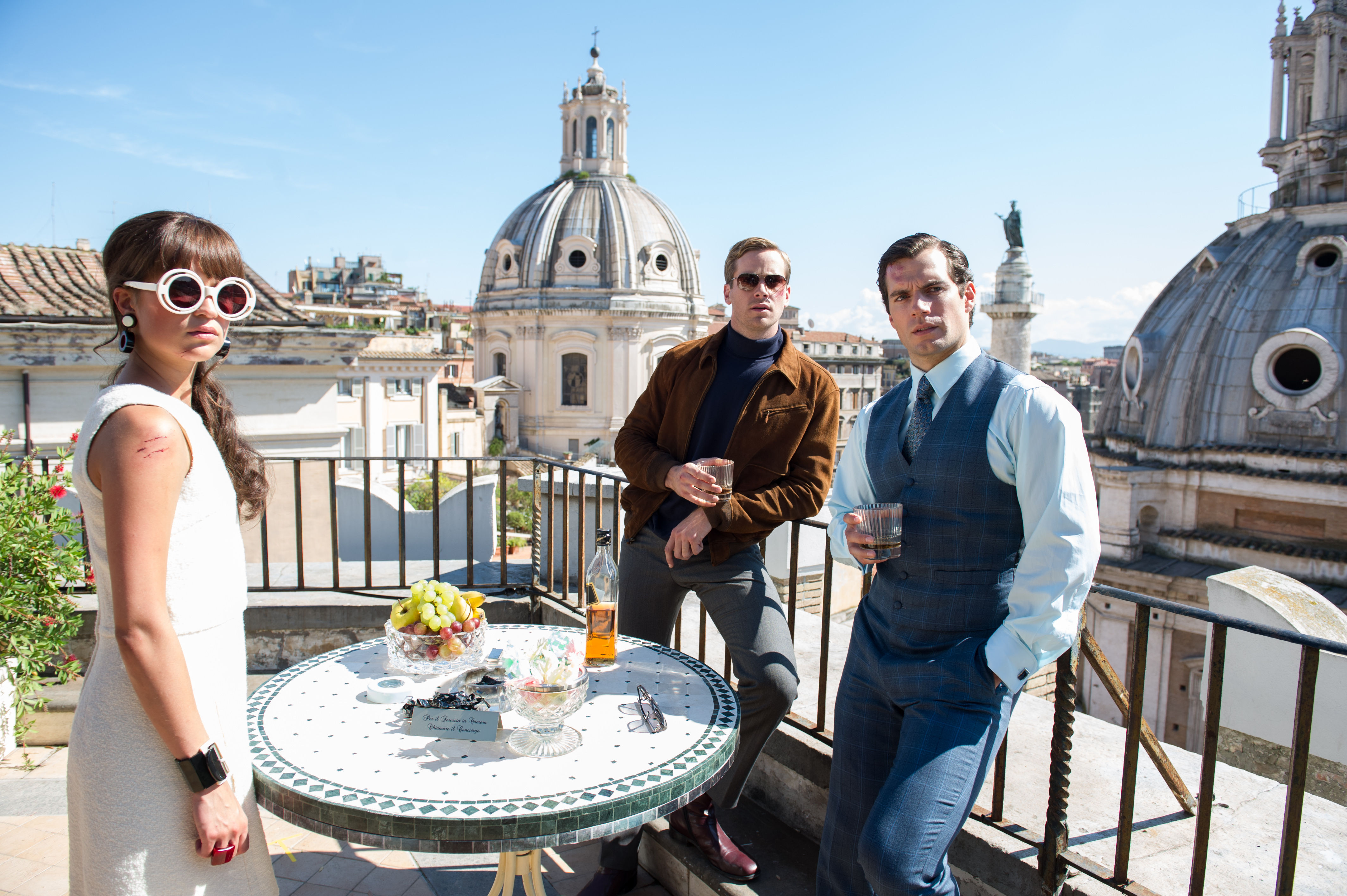 First trailer for Guy Ritchie's The Man From U.N.C.L.E movie