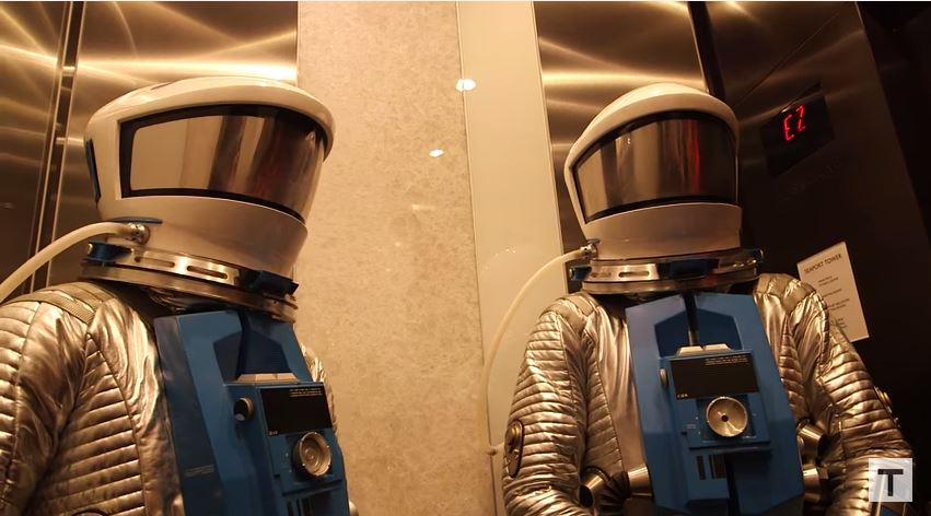 Adam Savage Incognito at Comic-Con 2015 (with Astronaut Chris Hadfield!)