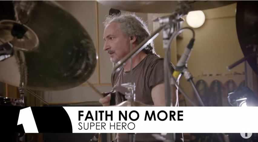Faith No More - Superhero, in session for the Radio 1 Rock Show