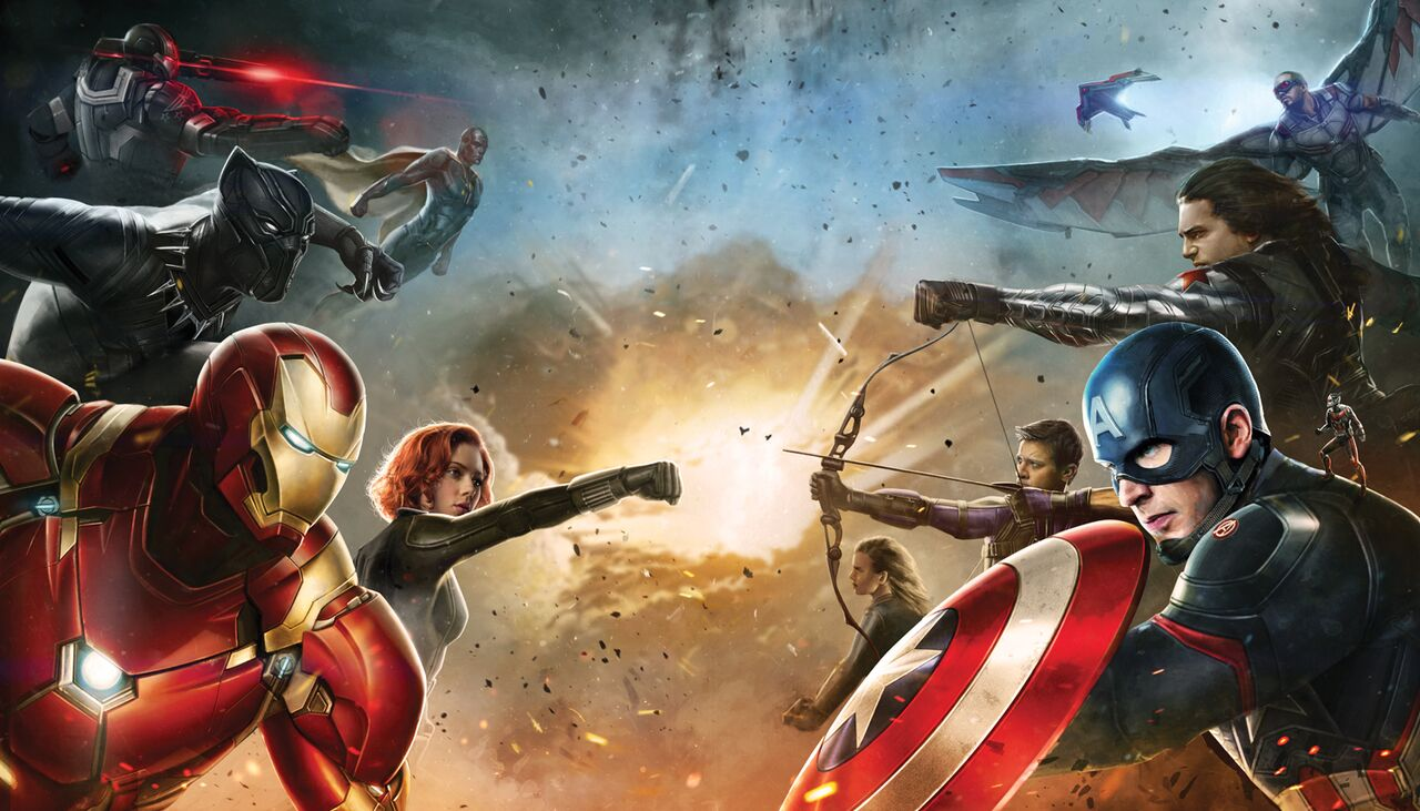 CIVIL WAR: CAPTAIN AMERICA & IRON MAN'S Teams Revealed!