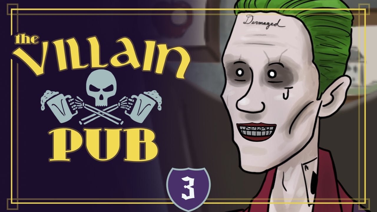 The New Joker Get´s His Verdict At The Villain Pub