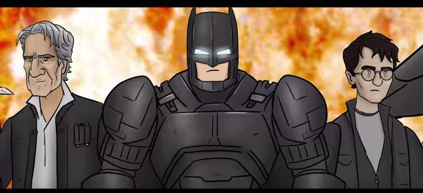 BAT BLOOD - A Batman V Superman AND Bad Blood PARODY ft. Batman
