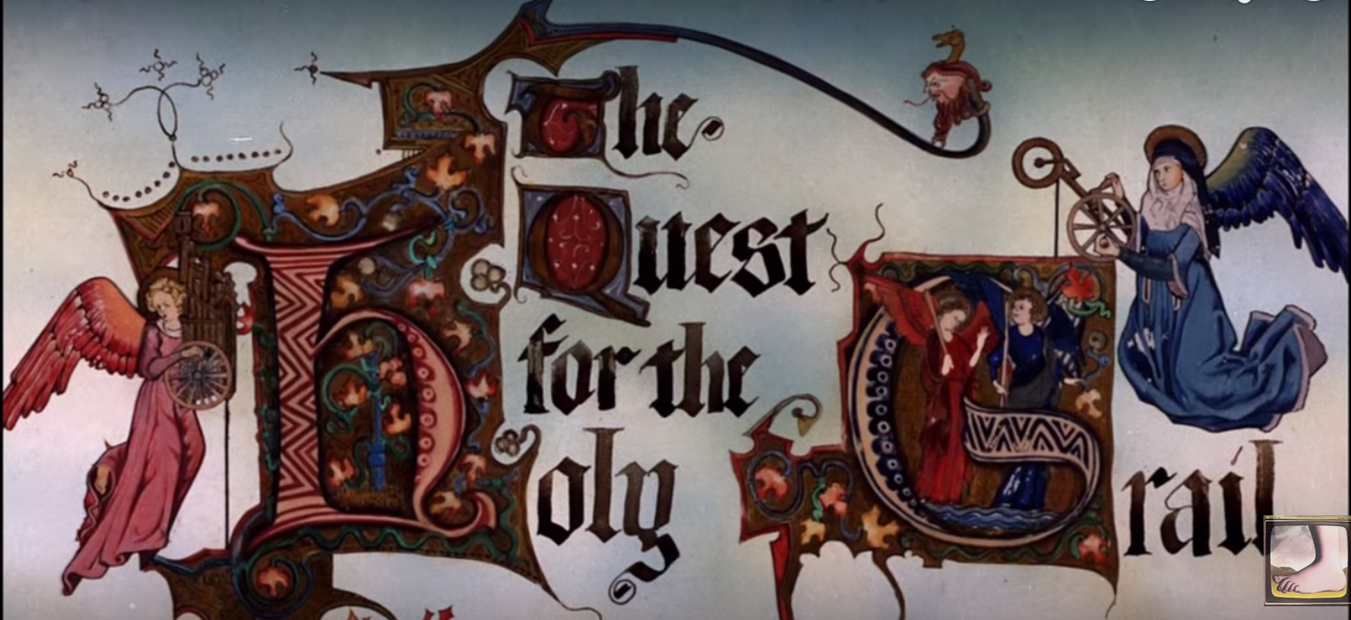 Watch Never Before Seen Animations from Monty Python and the Holy Grail