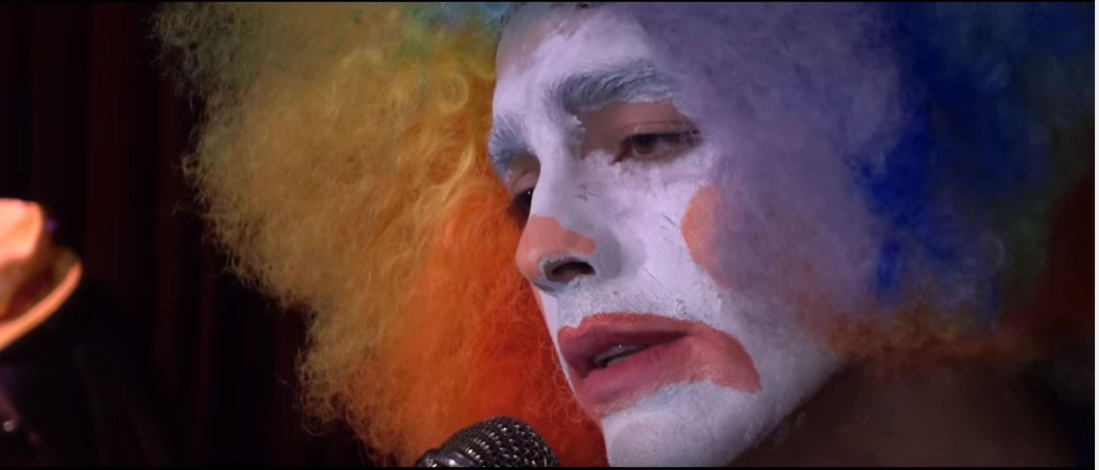 Joe Jonas covers Adele's 'Hello' As A Scary Ass Clown