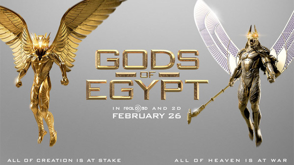 """Look At The Bad Ass New Trailer Of """"Gods Of Egypt""""Feat. Gerard Butler"""