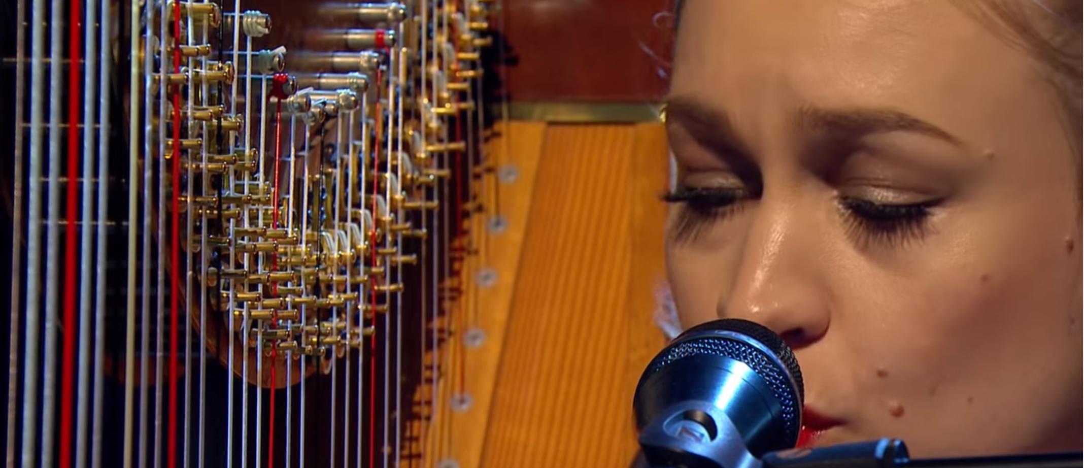 Watch Joanna Newsom Flip Her Harp On Later… with Jools Holland