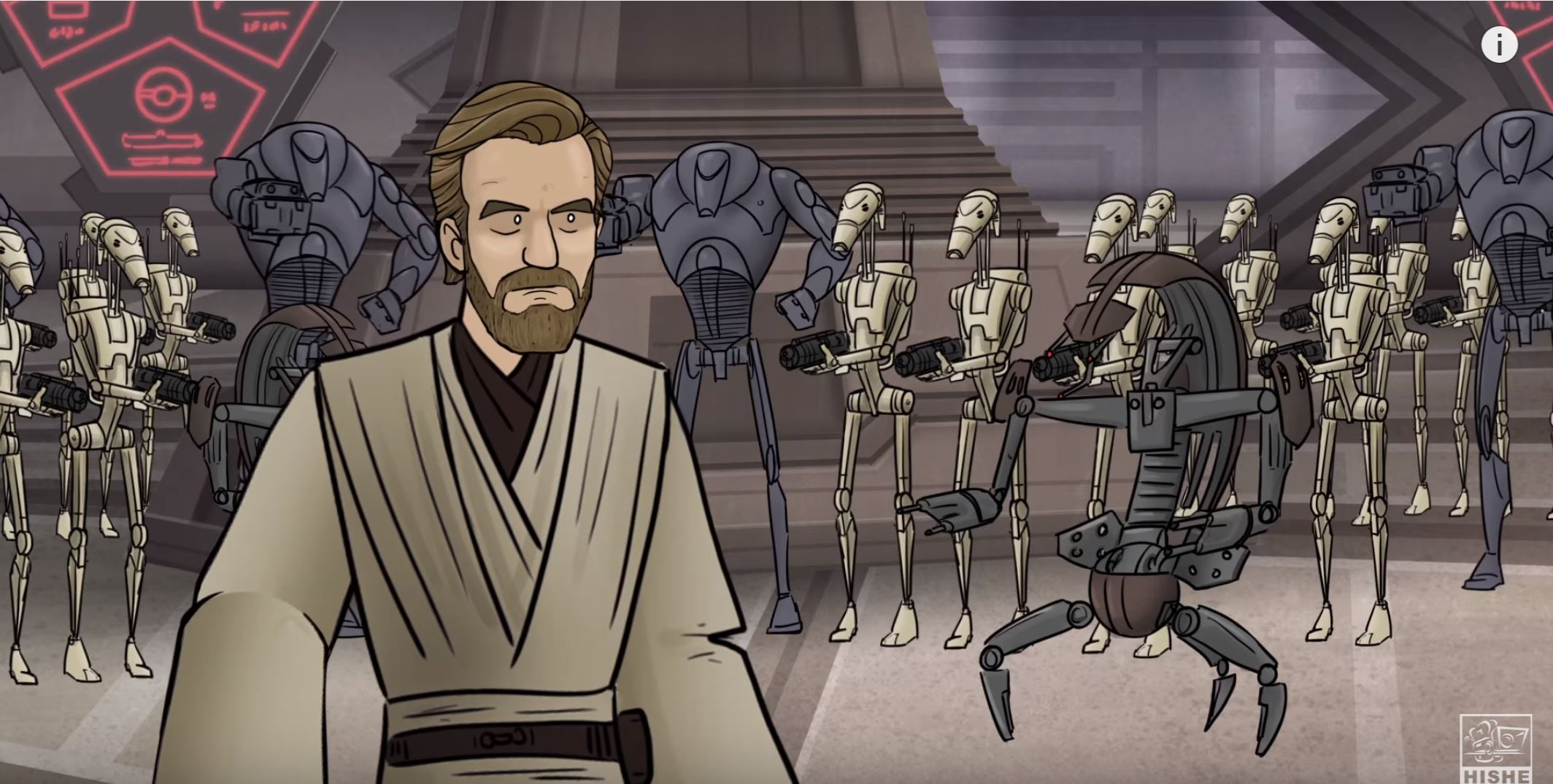 How Revenge Of The Sith Should Have Ended