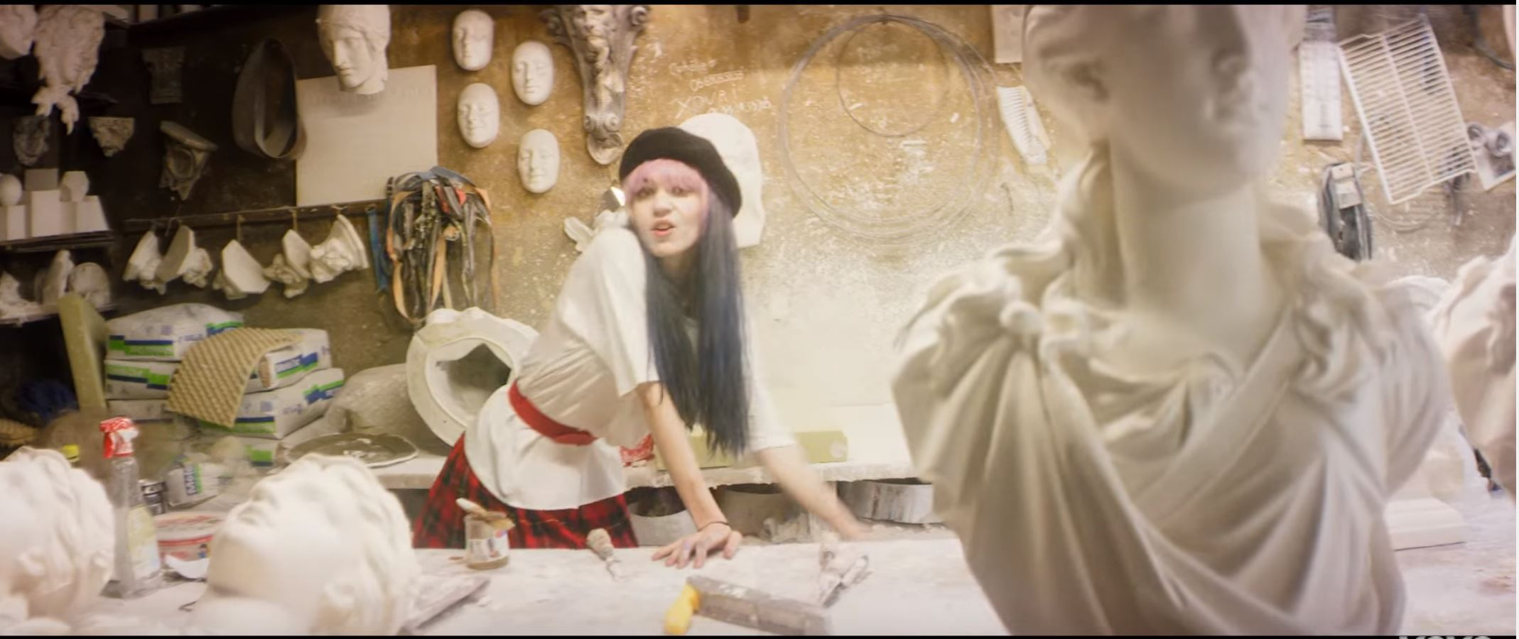 New Video From Grimes - California