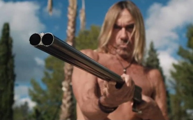 In case you missed it: Iggy Pop Star in Blood Orange -Trailer
