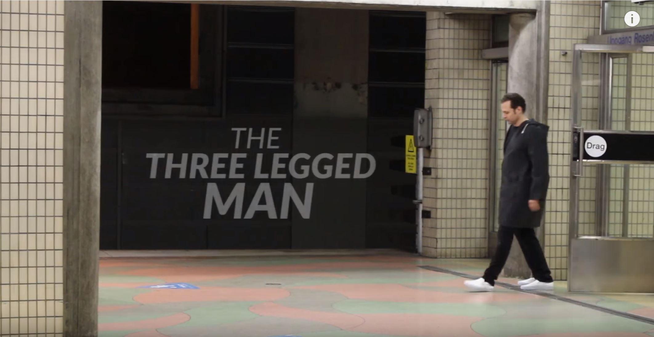Watch The Hilarious Three legged Man PRANK! By-Julien Magic
