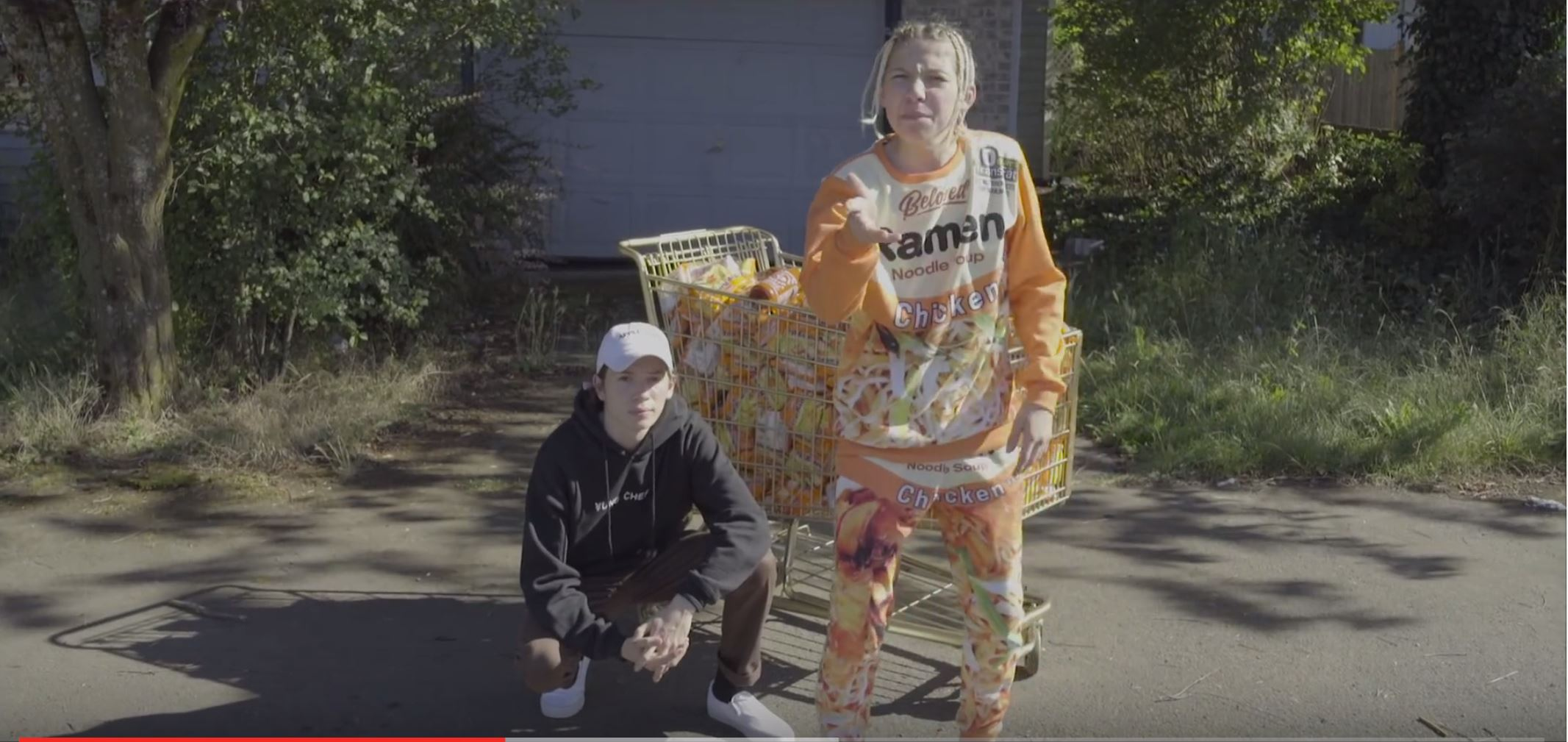 "Portland rapper ¥ung ¢hef ode to ""Top Ramen"""