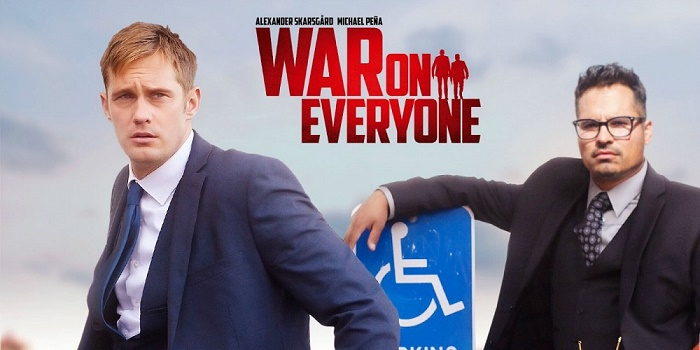 Alexander Skarsgård´s New Comedy 'War On Everyone' Looks Hilarious (Trailer)