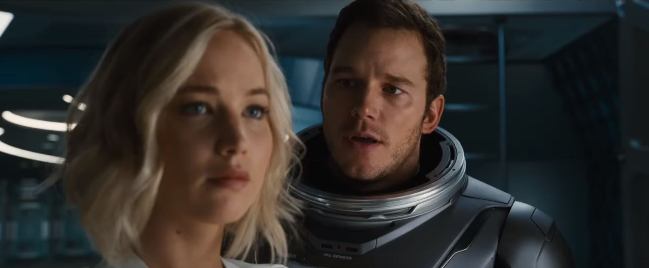 Watch The New Trailer PASSENGERS with Jennifer Lawrence and Chris Pratt
