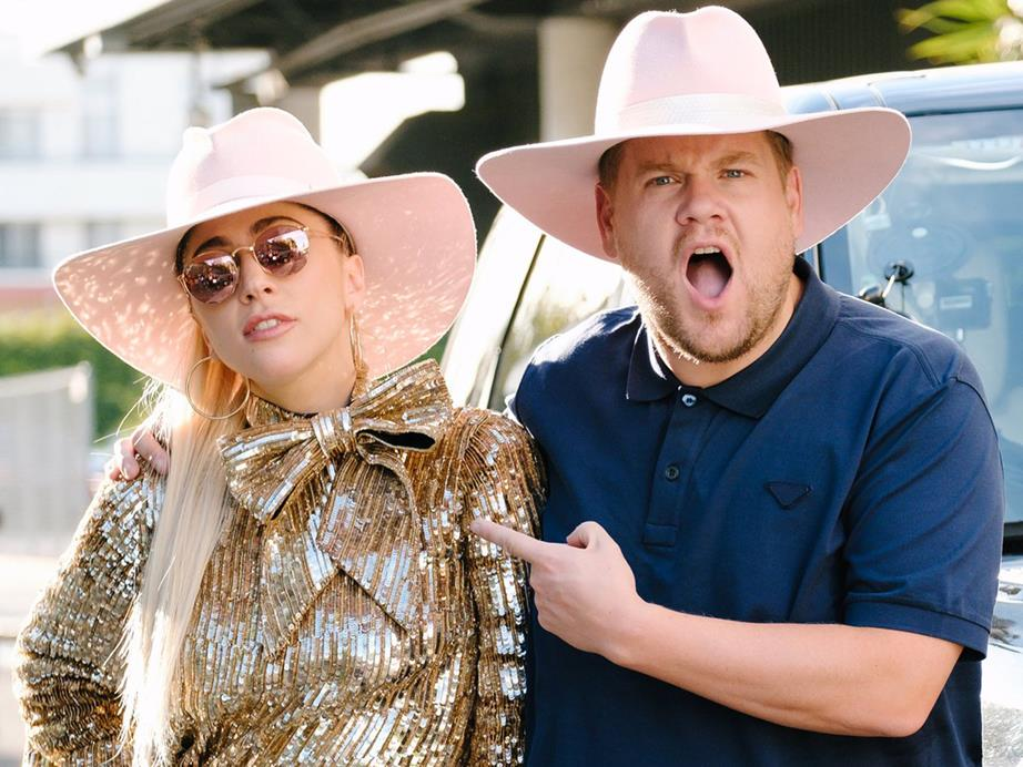 Watch James Corden Sing With Lady Gaga In 'Carpool Karaoke'
