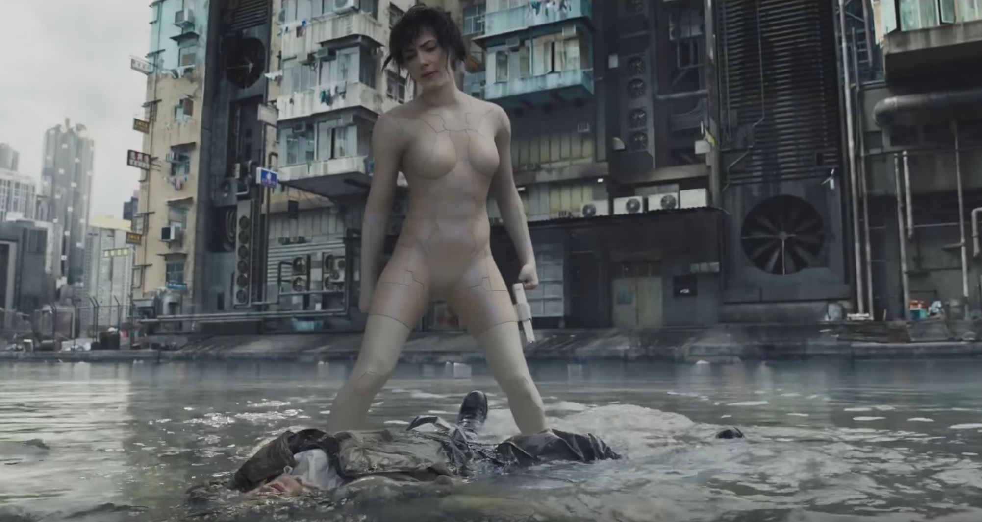 Ghost in the Shell Official Trailer Has Finally Arrived And It Looks Great!