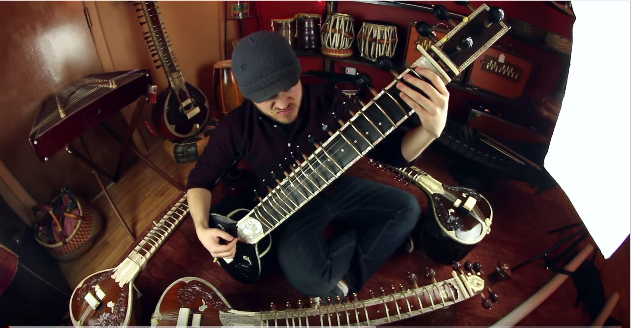 Sitar Metal Feat Rob Scallon