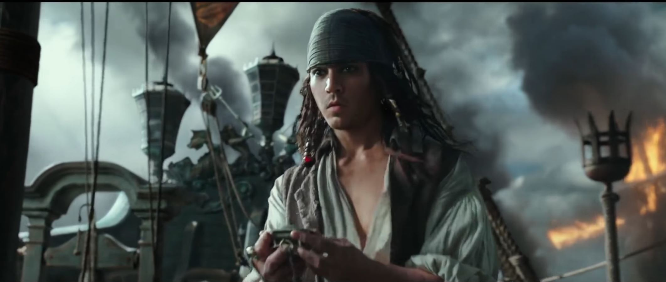 PIRATES OF THE CARIBBEAN 5 Official New Trailer