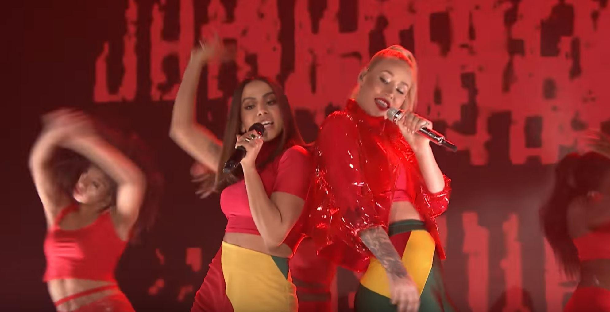Watch Iggy Azalea ft. Anitta performing Switch Live On Jimmy Fallon