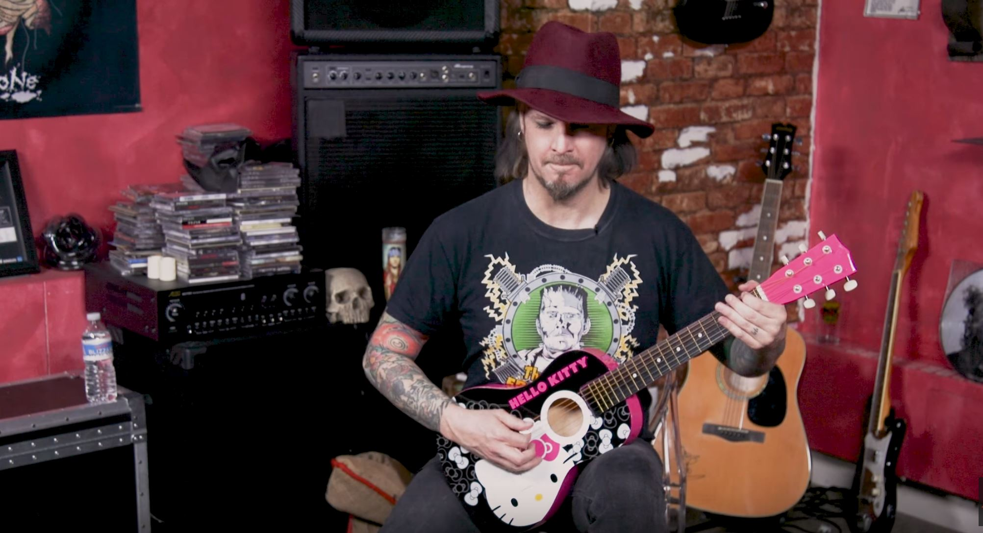 John 5 Plays Hello Kitty Guitar in 13 Different Styles