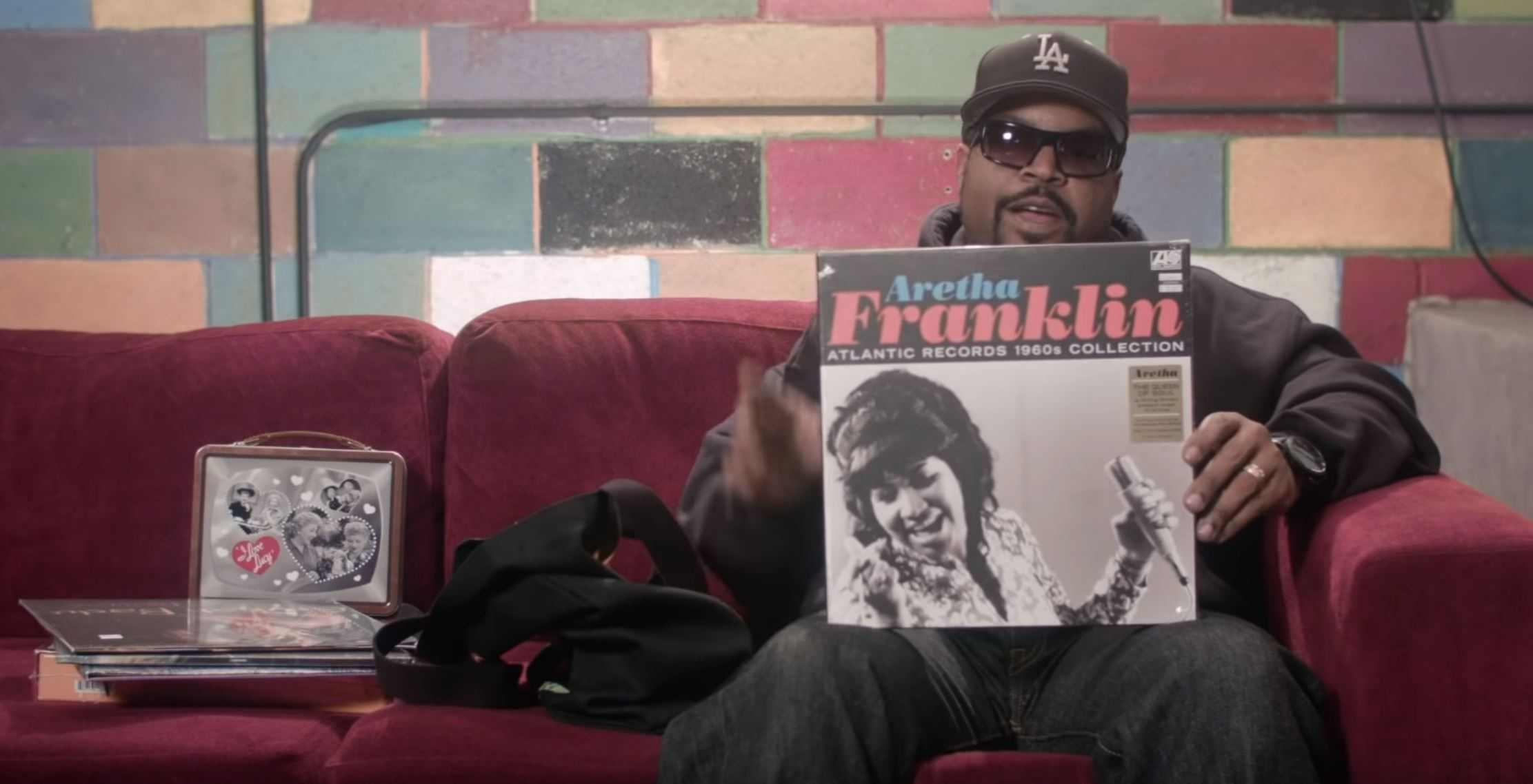 Ice Cube Recommends Some Records In: What's In My Bag?