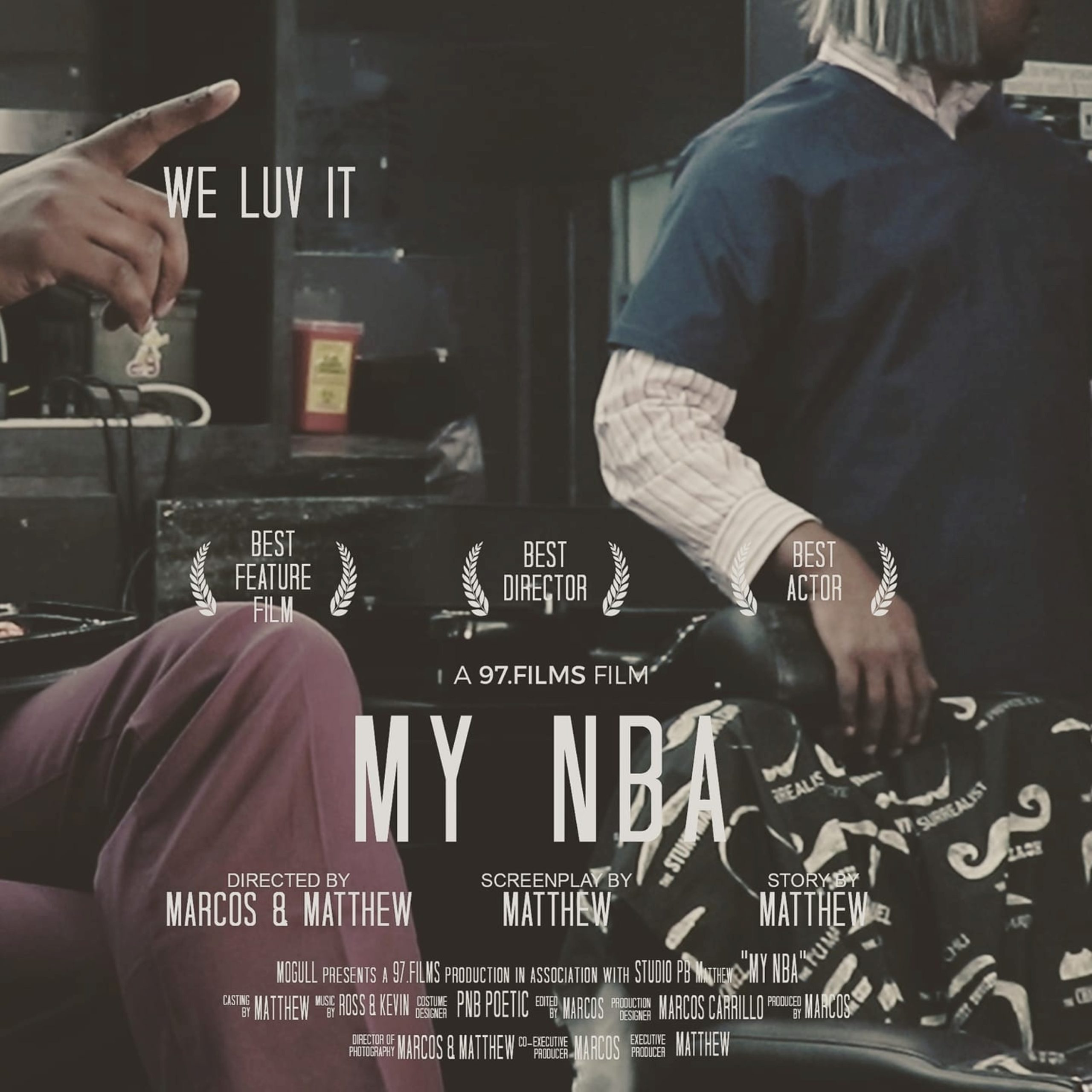 An Original NBA Tribute Hip Hop Track- WE LUV IT #MYNBA By Matthew